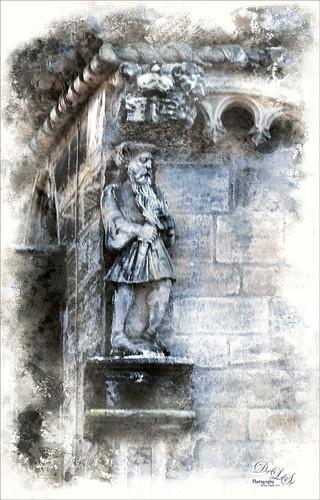 Image of King James V at Stirling Castle, Scotland