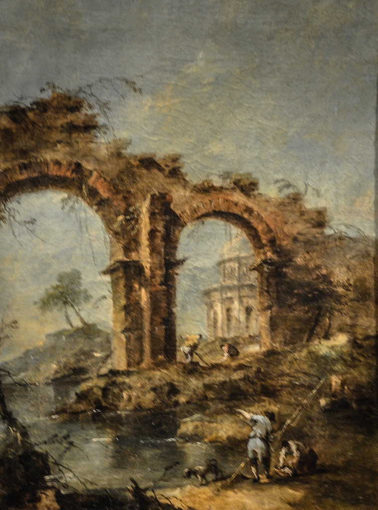 Francesco Guardi: Capriccio At Museu Calouste Gulbenkian