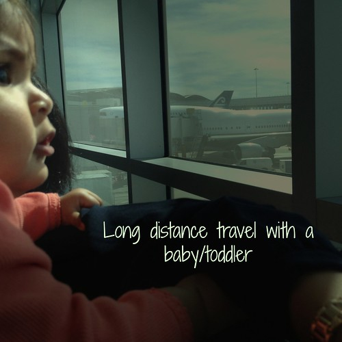 Long distance travel with a baby