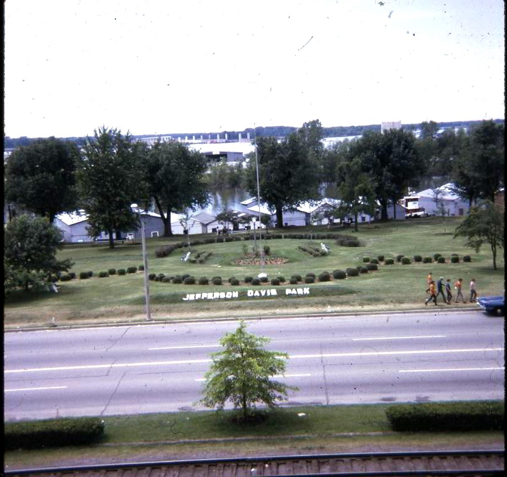 June 1970 Color Slide - Downtown Memphis