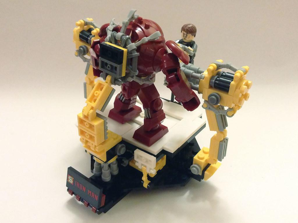 Tony Stark & Hulkbuster Iron Man | Building Toy by Shen Yu ...