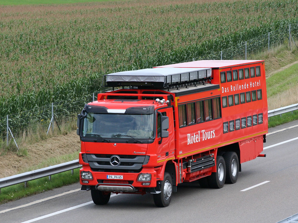 Rotel Tours 1 Truck Mb Actros 3 3553 V8 Bus Truck