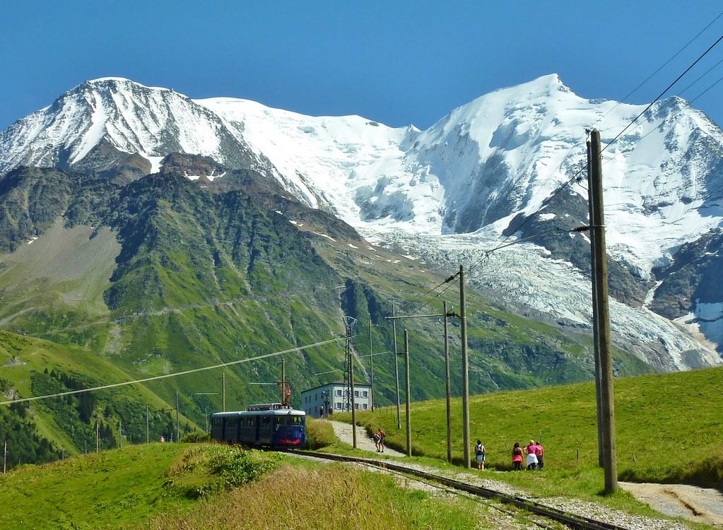 Saint Gervais, Tramway du Mont Blanc, Bellevue, Bionnassay… | Flickr