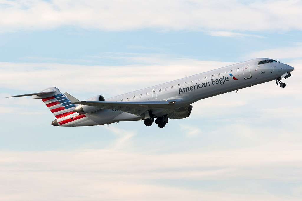 American Eagle Psa Airlines Bombardier Crj 700 N712ps Kc