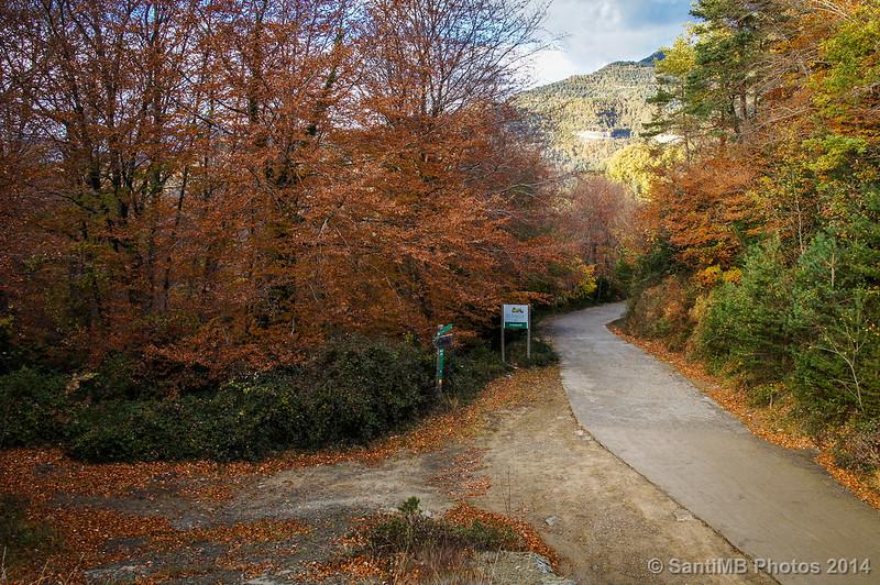 Final del descenso de la Serra dels Bufadors