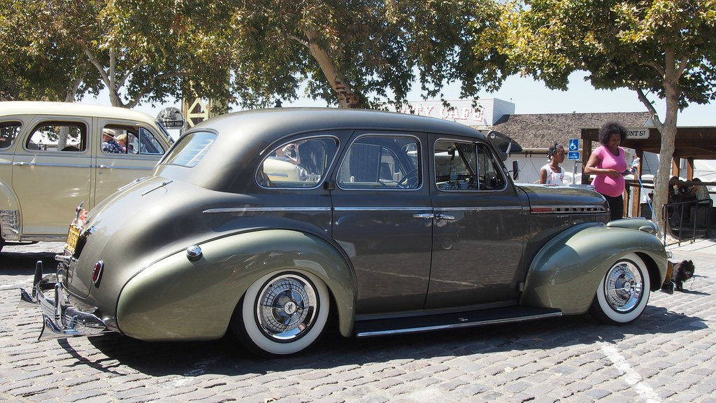 1940 chevrolet special deluxe 4 door sedan custom 39 6b 55
