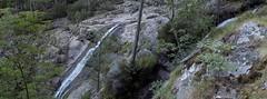 Ravin de Laoscella: 1ère cascade