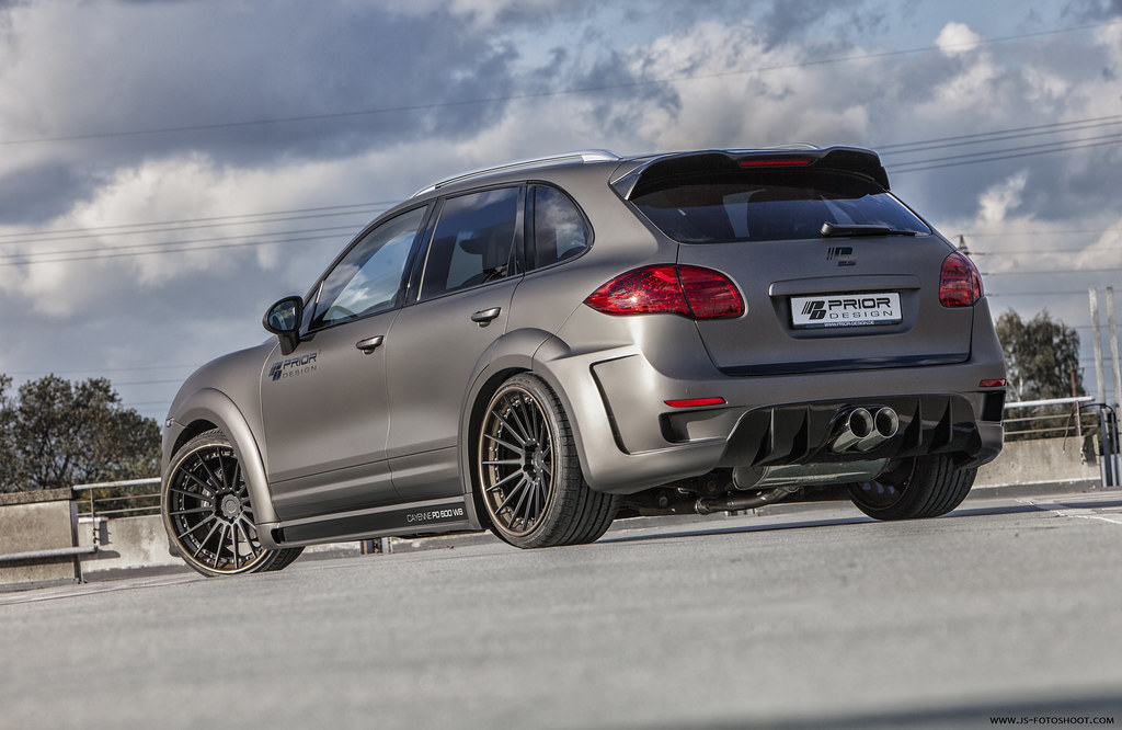 Prior Design Porsche Cayenne Pd600 Wide Body Kit Prior