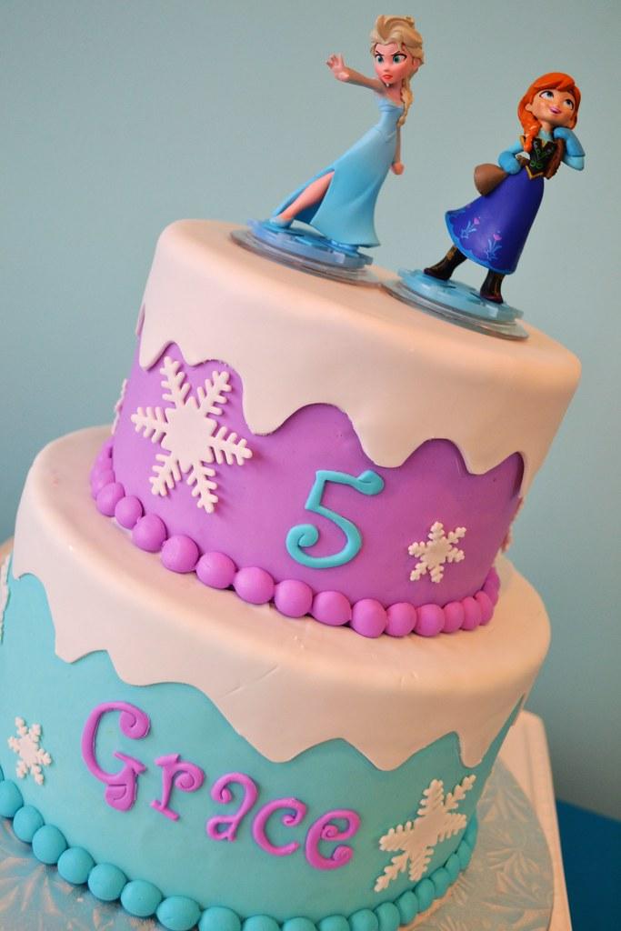 Anna And Elsa Cake Pan