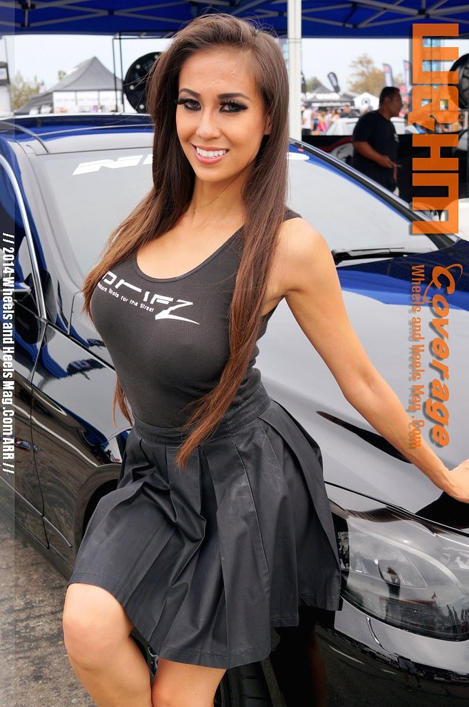Lyna Ly Model At 2014 Nitto Tires Auto Enthusiast Day By
