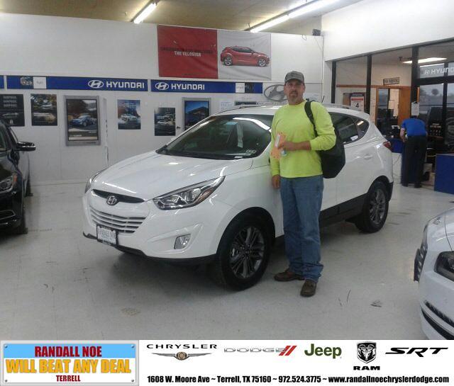 Congratulations To Rick Jaskula On Your #Hyundai #Tucson P