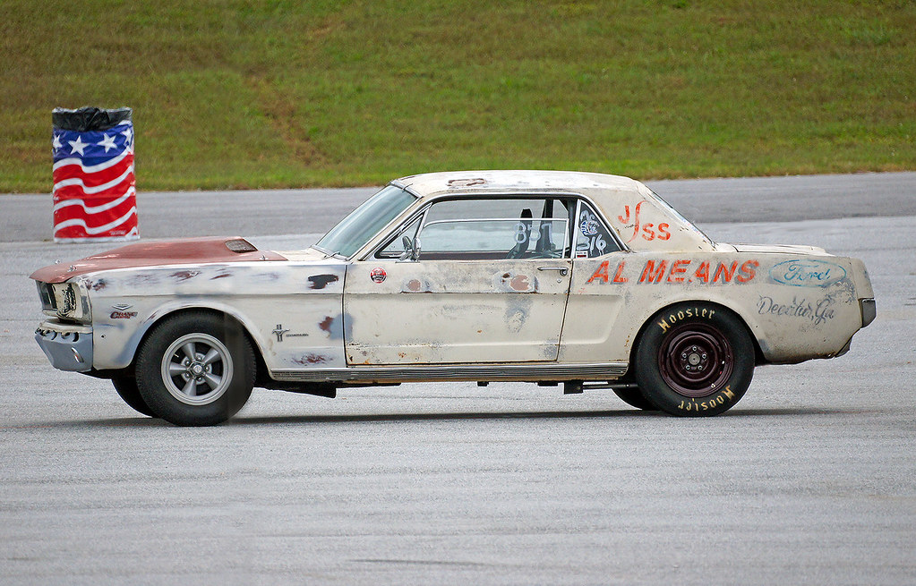 Vintage Super Stock Mustang At The 2014 Gear Jam