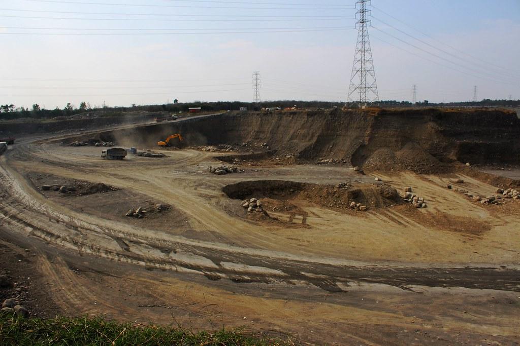 2015年大潮州人工湖工程現場。攝影:廖靜蕙