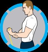 5⃣️ 彈力帶手腕延展運動