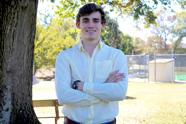 "Auburn senior Jean Phillippe ""Tres"" Bodet who was recently awarded a Fulbright Scholarship."