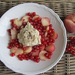 Fruit Salad with long pepper cream