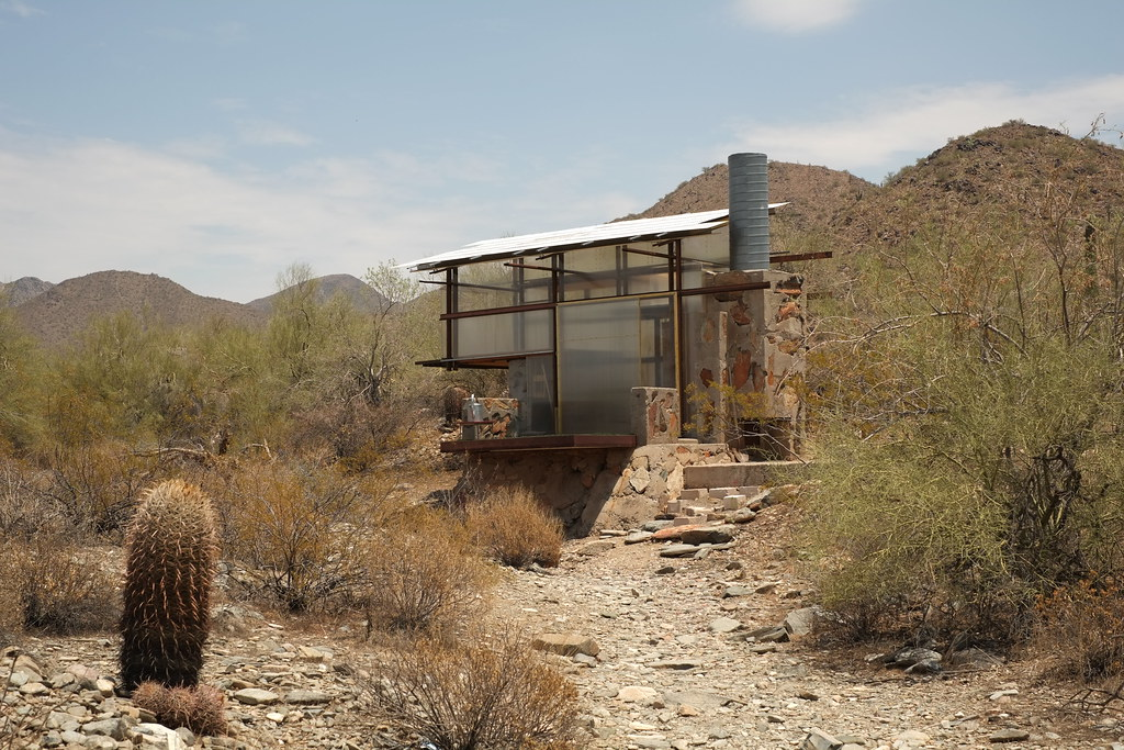 Traslucent Tiny House In The Desert Of Arizona Within Tal