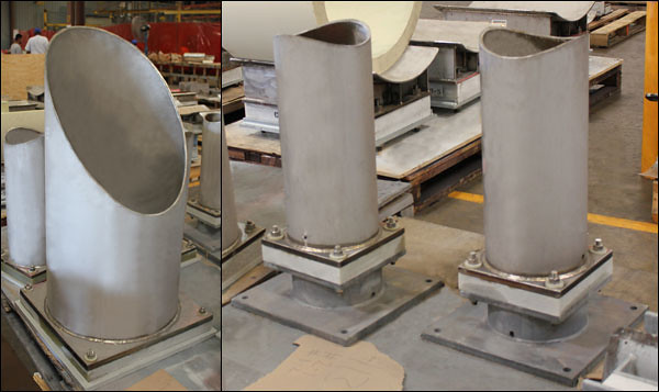 Trunnions Designed With Insulation For An Lng Facility