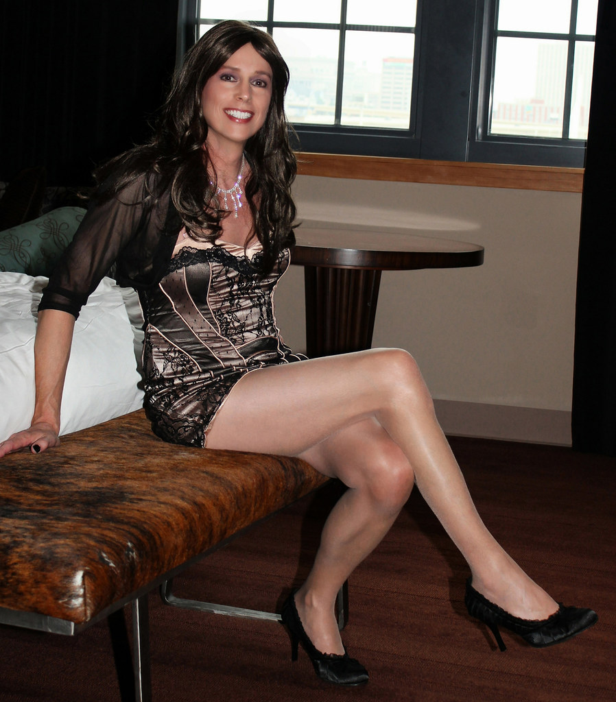 Milf She hot crossdressers does