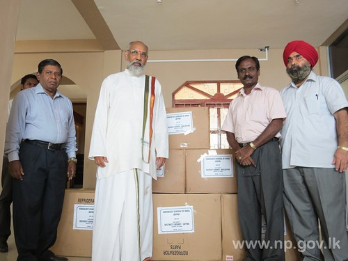Indian Consulate Jaffna handed over books to libraries– 29 August 2014