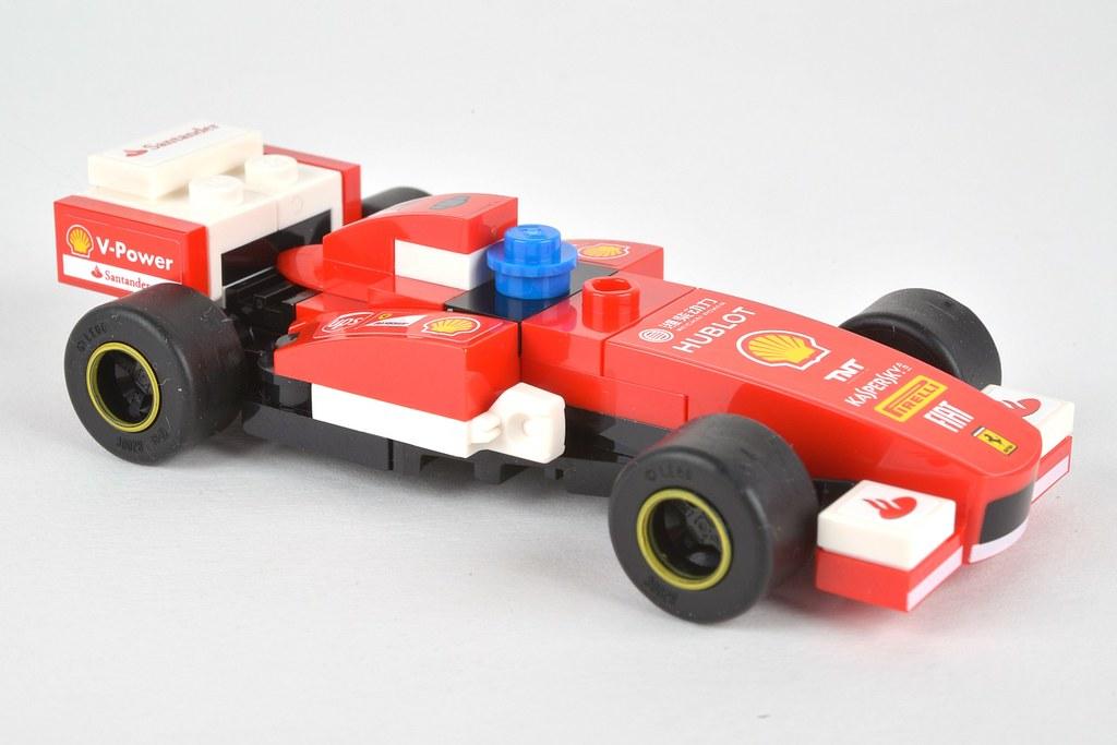 Lego Shell Race Car