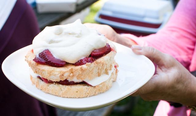 Chiffon Cake With Strawberries And Cream Recipes — Dishmaps