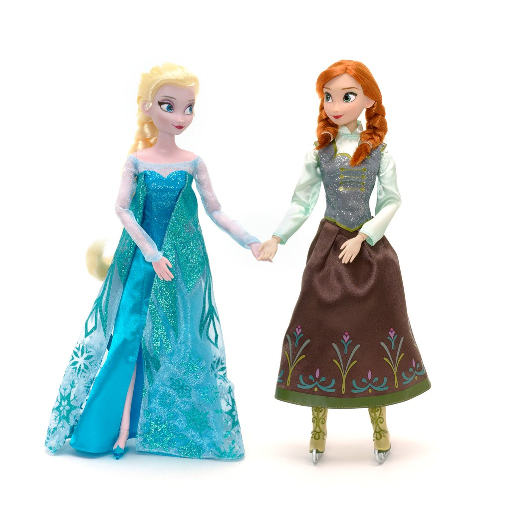 frozen anna and elsa ice skating doll set flickr. Black Bedroom Furniture Sets. Home Design Ideas