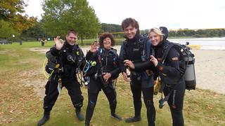Open Water Diver Maarten en Lisanne