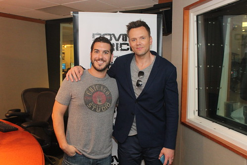 Joel McHale visits the Covino & Rich Show