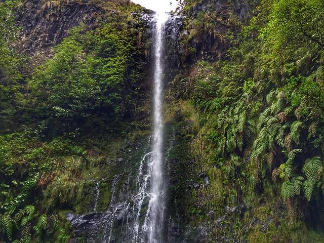 Cascada en Madeira