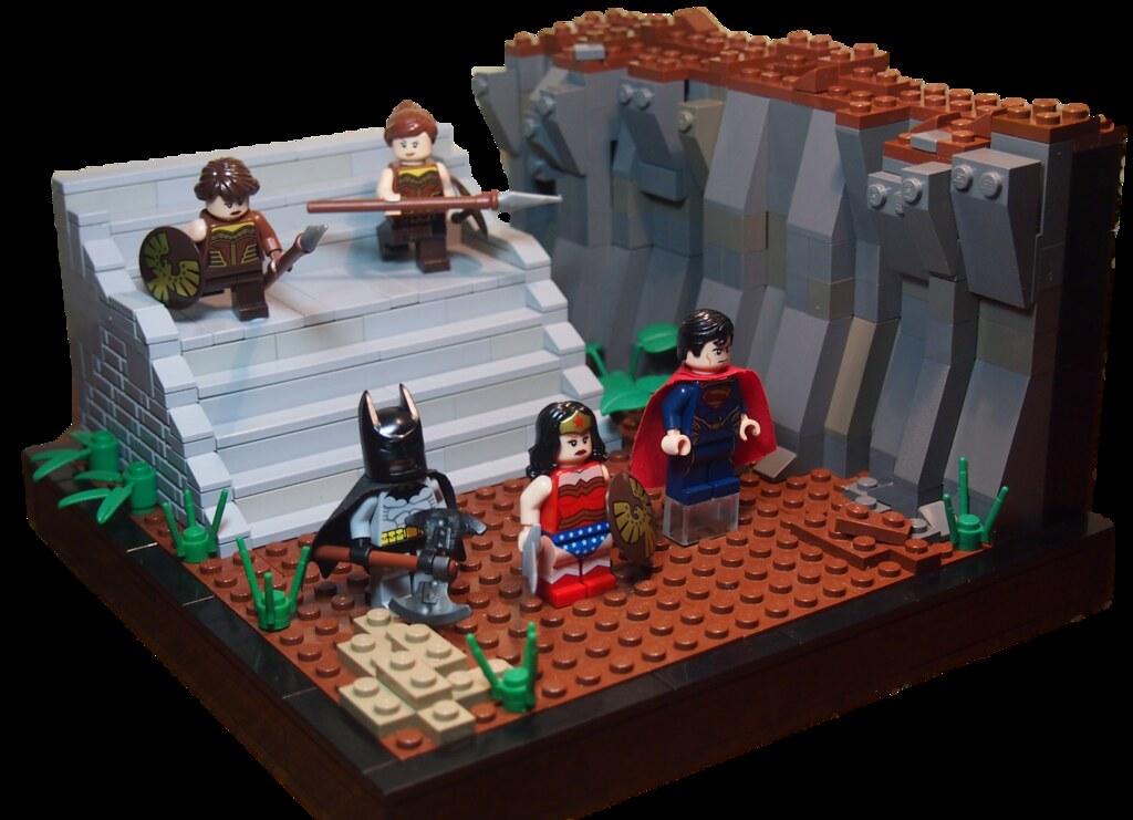 Superman Batman Apokalypse- Batman Wonder Woman And Superm -8251