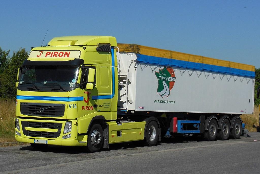 Volvo Fh 500 Quot Transports Jean Piron Quot Semi Remorque France