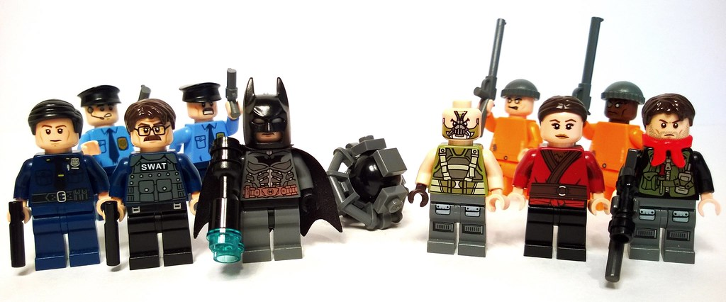 The Dark Knight Rises A Few Minifigures Based On