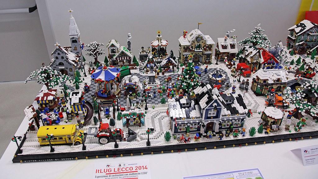 Christmas Lego Village
