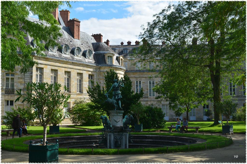 Ch teau de fontainebleau jardin de diane gillyan9 flickr for Jardin anglais chateau fontainebleau