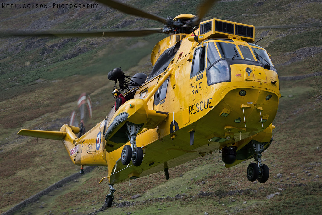 RAF SAR Search And Rescue Sea King