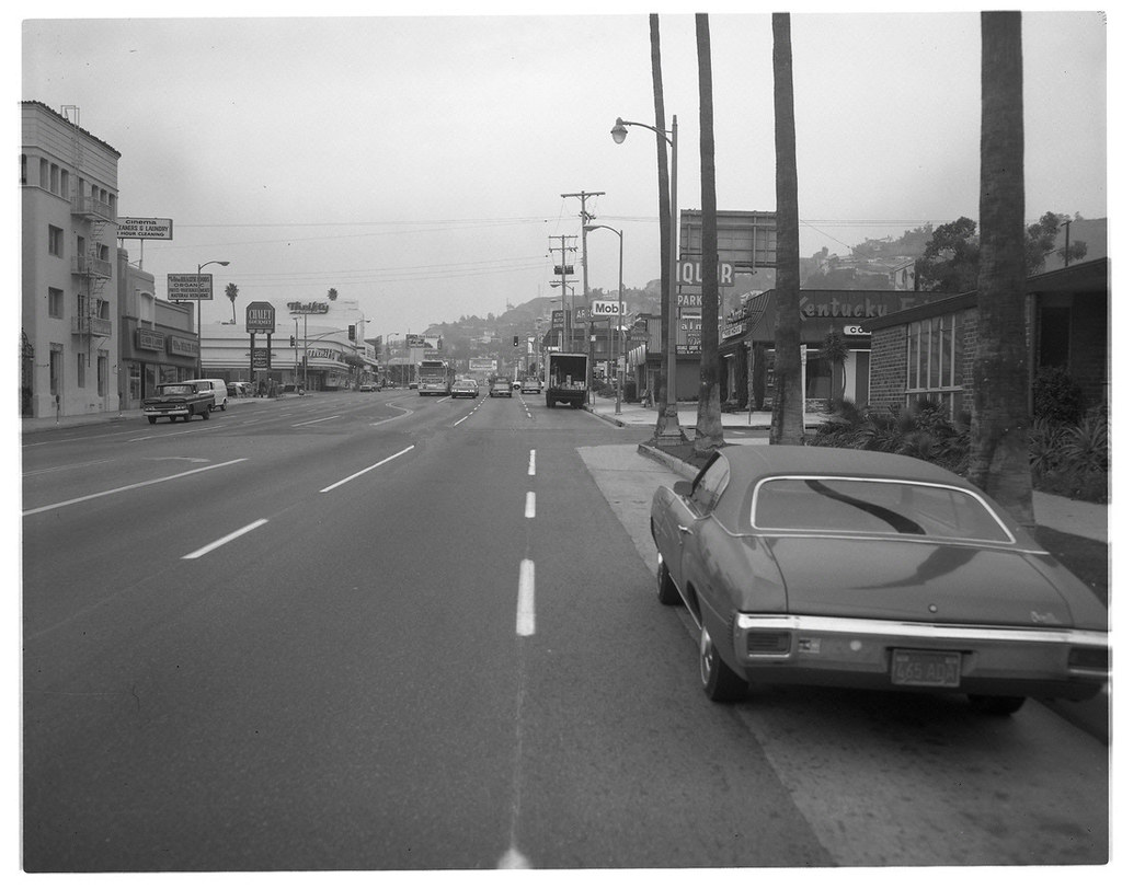 Where Is The Closest Gas Station >> W. Sunset Blvd. & N. Fairfax Ave., Hollywood, Los Angeles … | Flickr