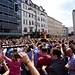Die Mannschaft auf dem Weg zur Fanmeile, Berlin (15.07.2014)