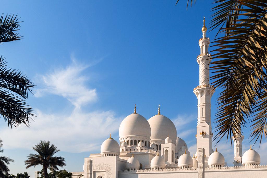 Exterior: Sheikh Zayed Mosque, Abu Dhabi