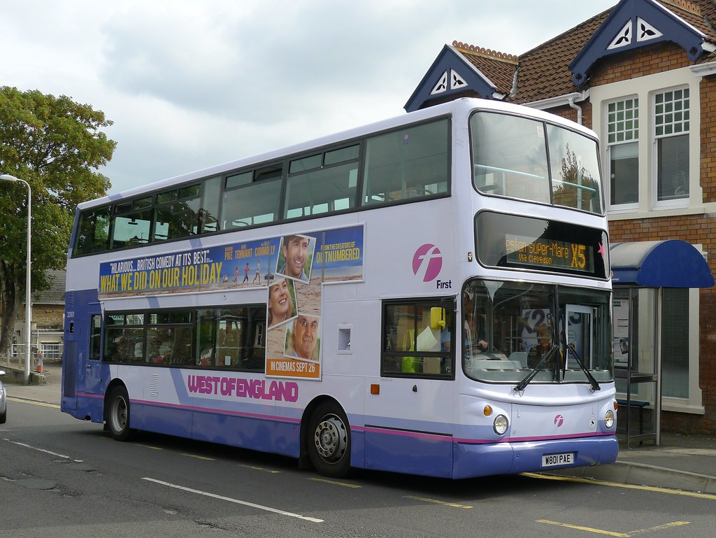 W801PAE First Somerset and Avon 32001 | Volvo B7TL / Alexand… | Flickr
