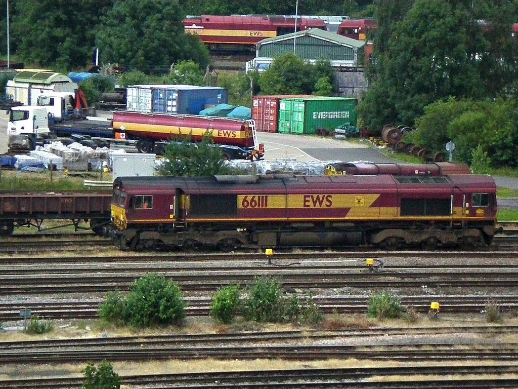 Ews Db Schenker Class 66 66111 Toton 66111 Toton