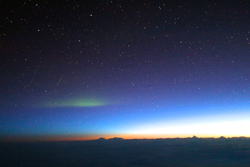 Aurora Cloud over Sunrise