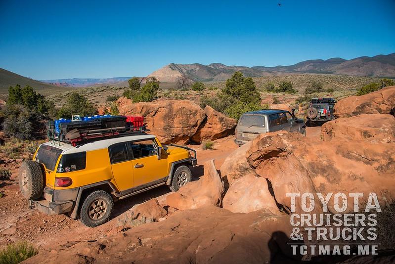 Toroweap Overlook Toyota Overland Trip