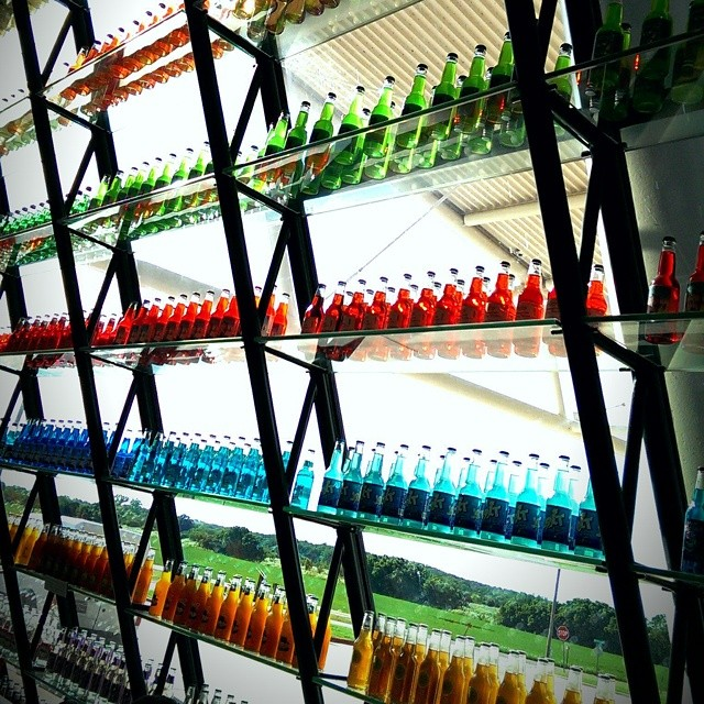 colored bottles food dye analysis in commercial products