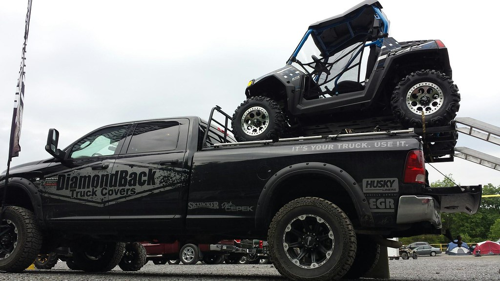 New Ram Truck >> Polaris RZR On Top Of DiamondBack Ram Pickup Truck | Flickr