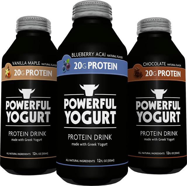 Powerful Yogurt Protein Drink