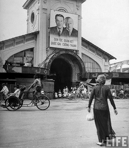 Chợ Bến Thành năm 1948