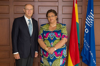 WIPO Director General Meets With Ghana's Foreign Minister | by WIPO | OMPI
