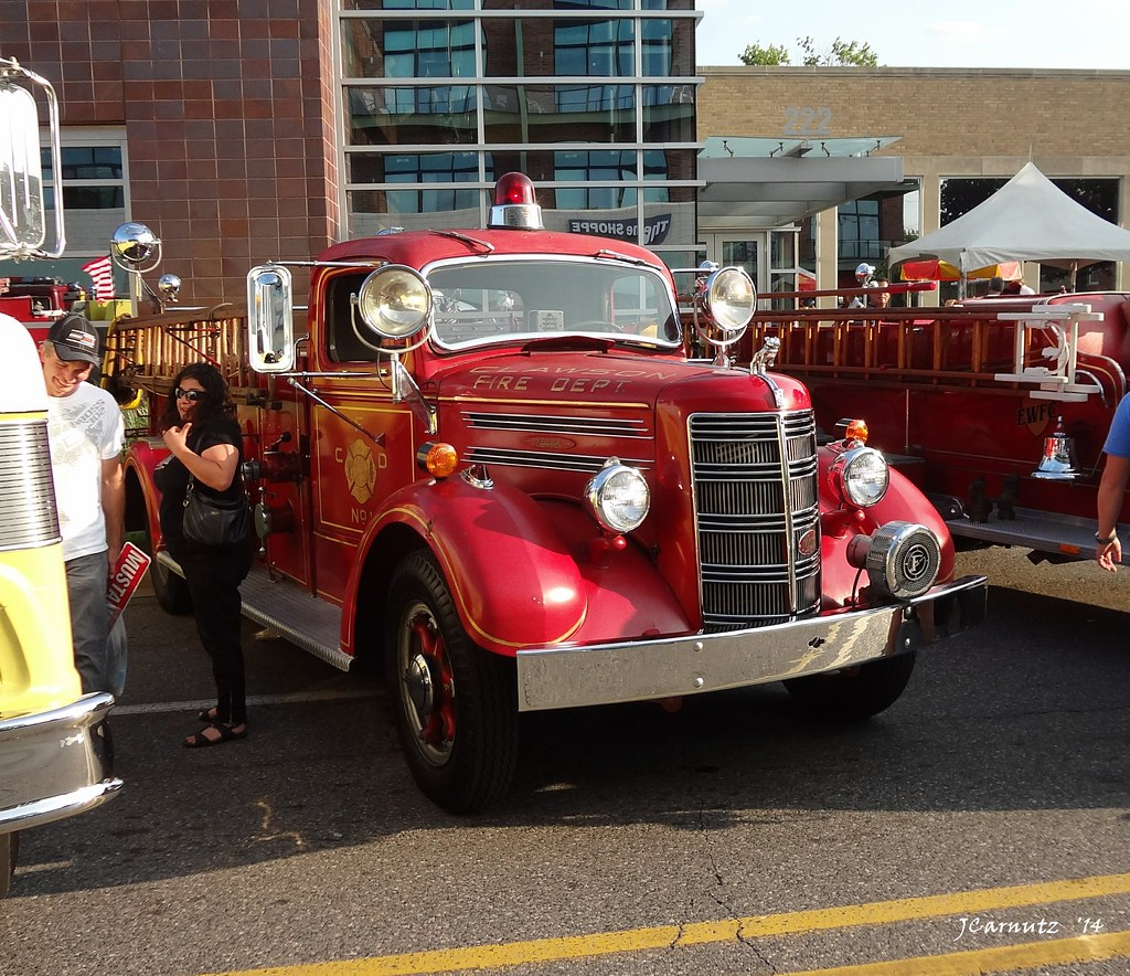 1948 Mack Truck : Mack fire truck taken at the th anniversary of