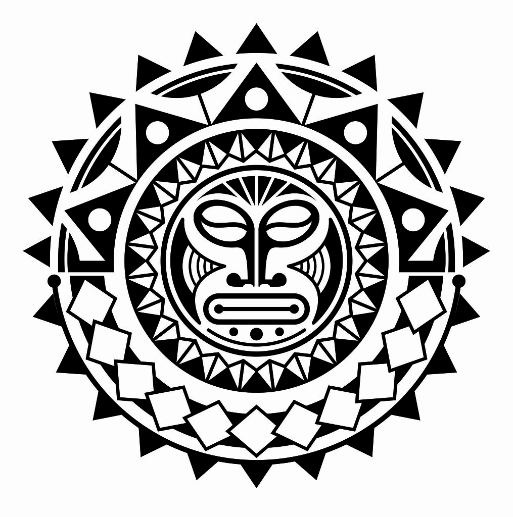 Maori Sun Tattoo: Jefté Muricy